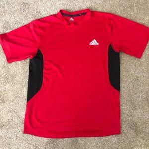 Red Adidas Athletic Shirt